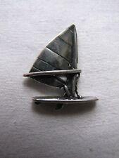 Silver Vent Surfeur Collier Pendentif Charme