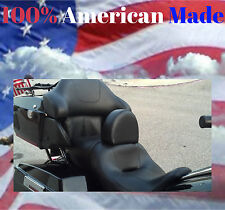 Harley Davidson Ultra Classic Drivers Backrest AMERICAN MADE Complete System!