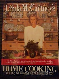 THE BEATLES LINDA MCCARTNEY'S HOME COOKING QUICK DISHES FOR TODAY 1ST PRESS BOOK