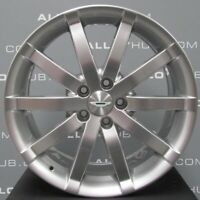 "GENUINE ASTON MARTIN DB9 SPEEDLINE 10 SPOKE 19"" INCH SILVER ALLOY WHEELS X4"