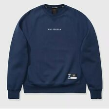 Nike Jordan X FRGMT Fragment FLC CREW Navy/Sports Royal (Size XS)