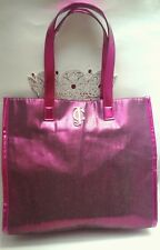 JUICY COUTURE Purple Irridesdent  God JC Embellishment Tote
