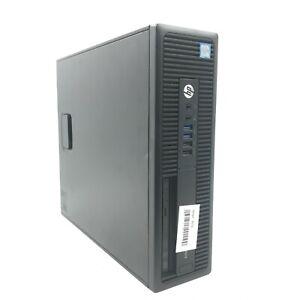 HP EliteDesk 800 G2 SFF PC i7-6700 CPU @ 3.40GHz 500GB HDD 16GB DDR4