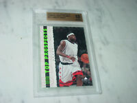 2003-04 Upper Deck UD Top Prospects Promo P2 LeBron James RC Rookie BGS 10!