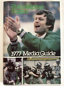 1977 Philadelphia Eagles Media Guide Vince Papale Ron Jaworski Dick Vermeil