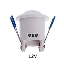 12V 360° PIR Infrared Motion Movement Sensor Detector Switch Ceiling Mounted