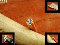 ALISTAR UK 6.30mm Thick 1x Mosaic Pin Handle Making Scales Bush Craft TOP! (1192