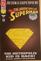 DC Comics 1993 The Adventures of Superman #501 Comic Book NM