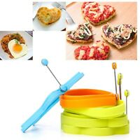 Silicone Fried Egg Pancake Cat Star Flower Shape Food Cookie Mould New Creative