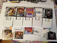 Lot of 5 Nintendo Gameboy Advance Boxes *** NO GAMES *** All W/ Instructions HTF