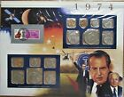 1974 United States Uncirculated Mint Set Panel - Postal Commemorative Society
