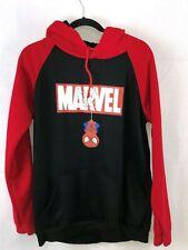 Mens Red & Black Marvel spiderman Hoodie XL