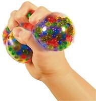 1 SQUEEZY PEEZY Squishy Sensory Stress Relief Ball Toy Autism Anxiety Fidget