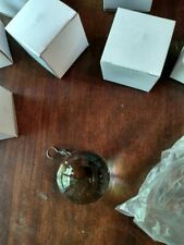 Pottery Barn 5 Callia Crystal Ball Replacement Silver Hook Bellora Chandelier