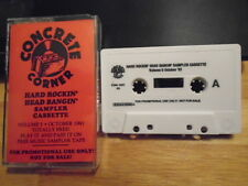 RARE PROMO Concrete Corner CASSETTE TAPE Nuclear Assault Cannibal Corpse OZZY ig
