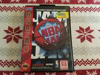 NBA Jam - Authentic - Sega Genesis - Case / Box Only!