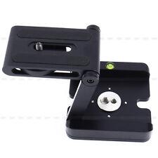 Camera Z Flex Tilt Folding Quick Release Plate Stand Holder Tripod Ball Head BLK
