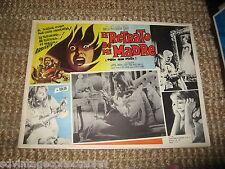El Retrato De Mi Madre HORROR Movie Lobby Card Mexican Vintage Poster Haunted