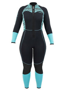 3mm Women's AKONA Quantum Stretch Front Zip Fullsuit