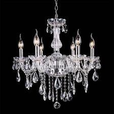 Chandelier Ceiling Pendant Light Modern Elegant Crystal Lamp Fixture lighting WT