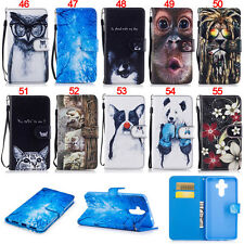 Owl Cat Stand ID Wallet Leather Flip Case Cover For Huawei Honor 5C Mate 9 Y560