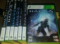 All Backward Compatible Xbox One Halo games (each Sold Individaully)