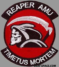 USAF 62nd EXPEDITIONARY RECONNAISSANCE SQ–REAPER AMU MQ-9 REAPER UAV DRONE PATCH