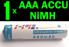 AAA 800mAh 1.2V Ni-MH rechargeable battery Accu Solar Light MP3 Phone