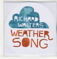 (GO736) Richard Walters, Weather Song - 2009 DJ CD