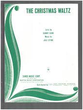CHRISTMAS WALTZ Sammy Cahn/Jule Styne 1965 Vintage Sheet Music