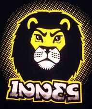 INNES CLOTHING med T shirt skateboard King Jungle tee sk8 lion Hensley brothers