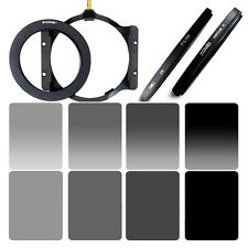 ZOMEI 100*150m Gradual ND2+ND4+ ND8+ND16 filter+77mm ring+Holder For Cokin Z LEE