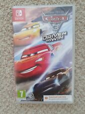Cars 3 Driven to Win NINTENDO SWITCH New and Sealed (DOWNLOAD ONLY)