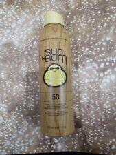 Sun Bum Premium Moisturizing Sunscreen Spray Spf 50 Uva/Uvb Protection 6 oz.
