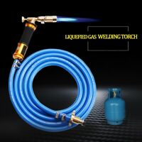 Electronic Ignition Liquefied Gas Welding Torch Kit with 3M Hose for Solder B2Q6