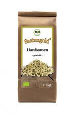 Saatengold   Bio-Hanfsamen geschält -ungeröstet-   Vegan & glutenfrei 1kg