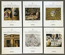 [Cosway Bindings]  Sotheby's  Lilly & Edmond J. Safra Collections  6 Vols.  2011
