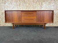 60er 70er Jahre Teak Sideboard Credenza H.P Hansen Danish Design Denmark 60s 70s
