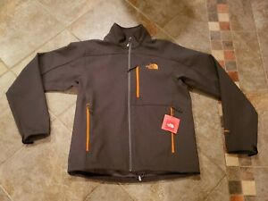 New The North Face Mens Windfall Ironton Softshell Jacket Sz Medium Fleece Apex