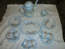 VINTAGE WINDSOR CHINA (CWS) FLORAL  COFFEE SET side plates cake plate