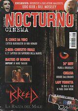 rivista NOCTURNO CINEMA ANNO 2006 NUMERO 46 THE BREED