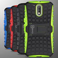 Slim Kickstand Hybrid Armor Phone Cover Case for Motorola Moto G4 / Moto G4 Plus