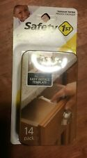 Safety 1st 14 Pack Wide Grip Cabinet & Drawer Latches Child Baby Proof New