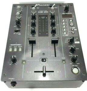 Pioneer DJM-400 DJ Mixer w/effects. Tested & fully functioning.