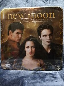 The Twilight Saga New Moon Movie Board Game In Collectible Tin NEW Sealed