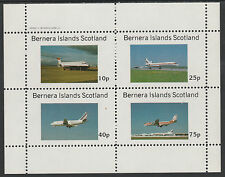 GB Locals - Bernera 2846 - AIRCRAFT - AIRLINERS perf sheetlet unmounted mint