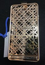 REBECCA MINKOFF Gold Cage iPhone 6 Phone Sleeve Case Gold Plated Brass