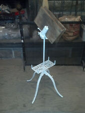 Ornate iron Music Stand spring loaded