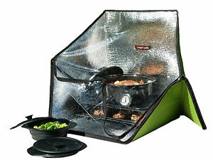 SUNFLAIR Portable Solar Oven Cooker, deluxe kit