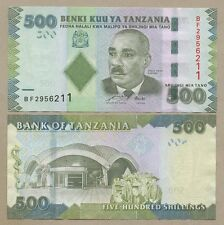 TANZANIE - 500 SH 2011 P40 hors-circulation (billets de banque)